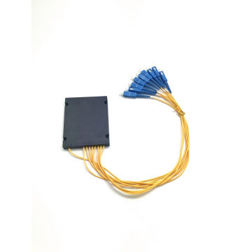 PLC 1x8 ABS BOX SC connector splitter